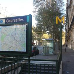 Courcelles Metro Station