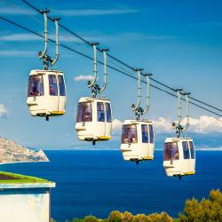 Taormina Cable Car - Mazzaro Station