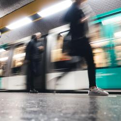 Avenue Emile Zola Metro Station