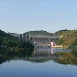 Orlík Dam, Kožlí