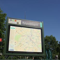 République Metro Station