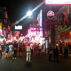Walking Street Pattaya, Pattaya sør