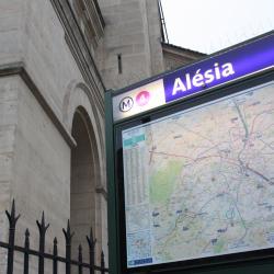 Estación de metro Alésia