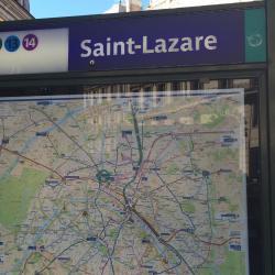 Σταθμός Μετρό Saint-Lazare