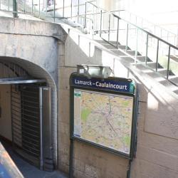 Estación de metro Lamarck-Caulaincourt
