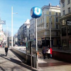 Neubaugasse Metro Stop