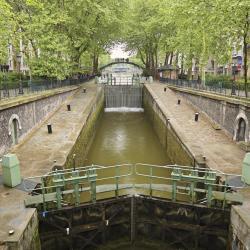 תעלת סן מרטן, פריז