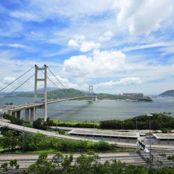 Tsing Ma Bridge, Honkonga