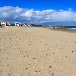 a Sandbanks-félsziget, Poole