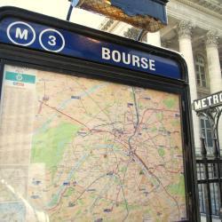 Estación de metro Bourse