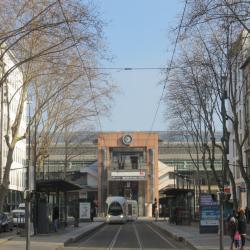 Lyon Perrache Train Station