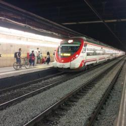Passeig de Gràcia Railway Station
