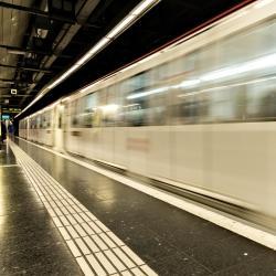Santa Eulalia Metro Station