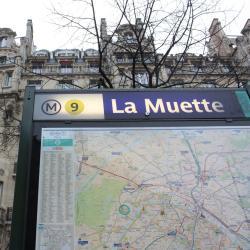 La Muette Metro Station