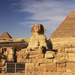 Great Sphinx-kalksteinastyttan
