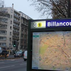 Billancourt Metro Station