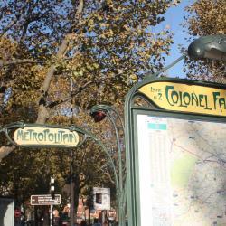 Estació de metro de Colonel Fabien