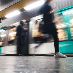 Rue de la Pompe Metro Station