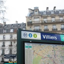 Σταθμός Μετρό Villiers