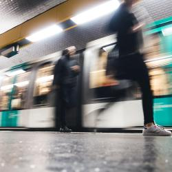 Stasiun Metro Carrefour Pleyel