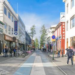 Laugavegur Shopping Street