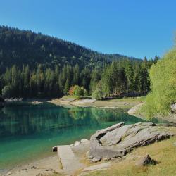 Lago di Cauma, Flims