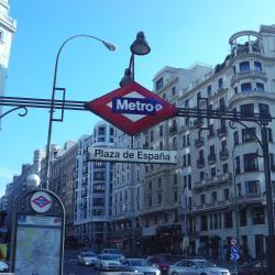 Plaza de Españan metroasema