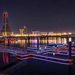 Manama Reef Island
