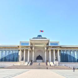 Chinggis Khan Square, Улан-Батор