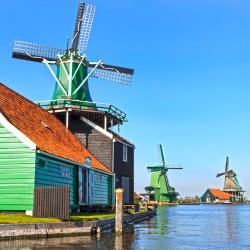 Skansen wiatraków De Zaanse Schans, Zaandam