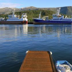 Bergenas prāmju terminālis Hurtigruten