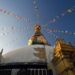 templis Swayambhu, Katmandu