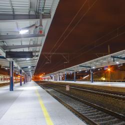 Praha Holešovice vlakové nádraží