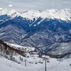 Горнолыжный подъемник Газпром