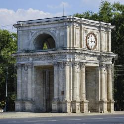 The Triumphal Arch Chisinau, Chişinău