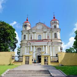 St Peter and St. Paul's Church, Vilnius