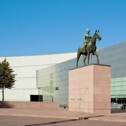 Mannerheim Statue, Helsinki