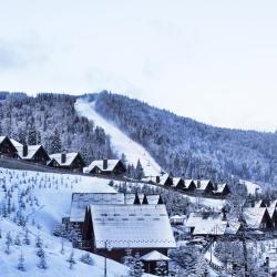 Bukovel Ski 97 cabins
