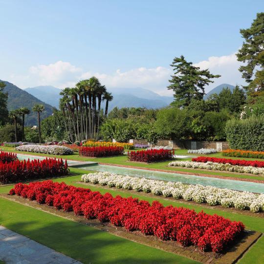 Villa Taranto's botanische tuinen in Verbania