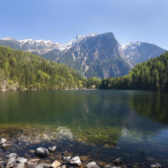 טיפוס הרים בשמורת הטבע Ötztal
