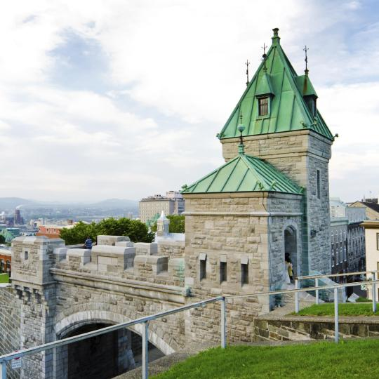 The Walled (Fortified) City of Old Québec