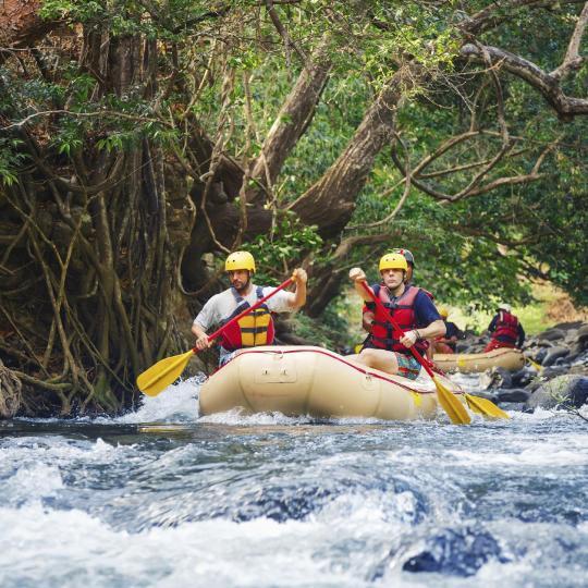 Rafting in Turrialba