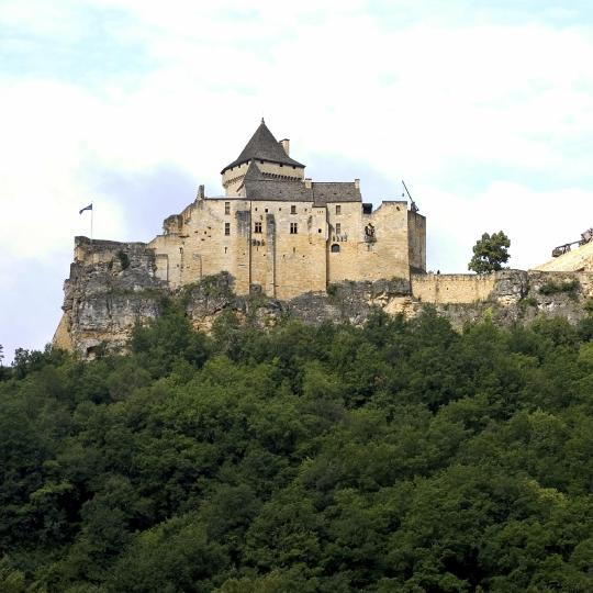 Het kasteel Castelnaud