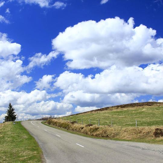 The Crest Road (La Route des Crêtes)