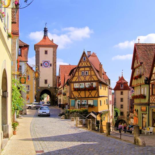 Rothenburg's Old Town