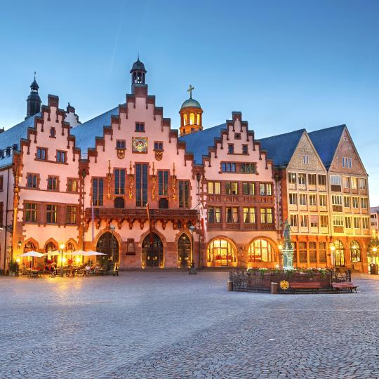 Culinary specialities in Frankfurt's Römer Old Town