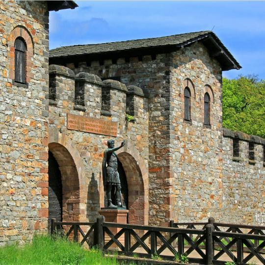 Saalburg Roman Fort and Hessenpark Open-Air Museum