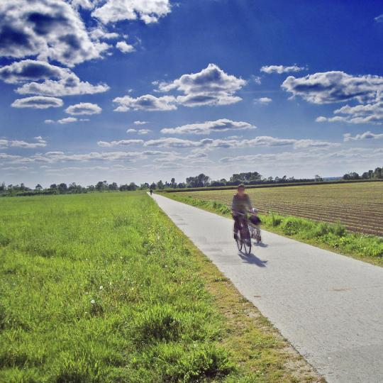 Cycling in the Loire Valley