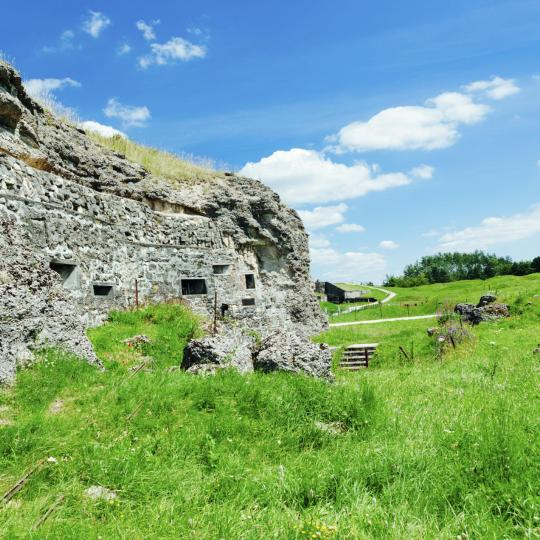 The underground citadel of Verdun