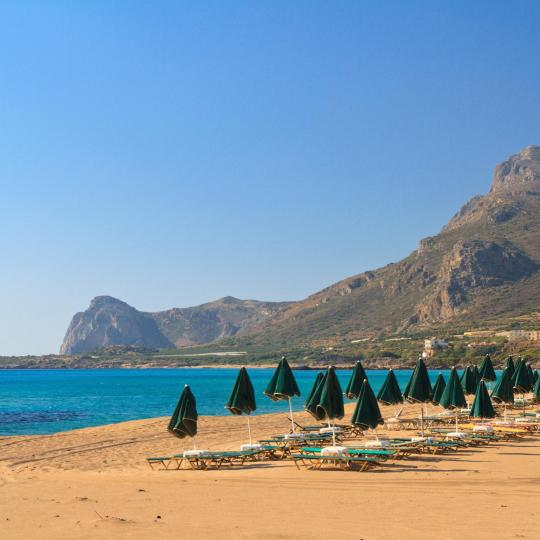 Falassarna-stranden